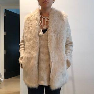 CLUB MONACO Faux Fur Vest